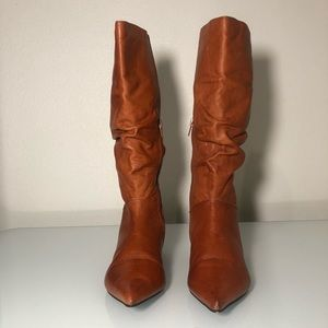 AUTHENTIC BRONX leather women's boots size 5.5